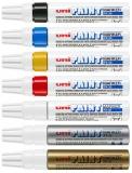 Marker cu vopsea Paint PX-30, varf tesit, 4 - 8.5 mm Uni-ball