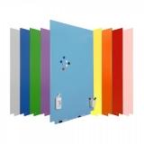 Whiteboard Skincolour magnetic, suprafata lacuita, modular, 100 x 150 cm Rocada