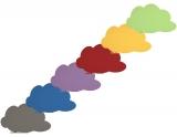 Whiteboard Skinshape Cloud magnetic, suprafata lacuita, 75 x 115 cm Rocada
