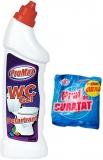 Detartrant WC 750 ml + Praf de curatat 375 gr gratuit Promax