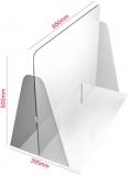 Protectie tejghea si case de marcat 65 x 50 cm