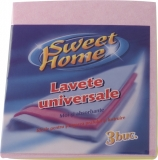 Lavete universale 3/set Sweet Home