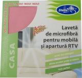 Laveta microfibra pentru mobila si aparatura Stella Pack