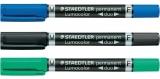Marker permanent 2 capete 0.6 mm - 2mm Staedtler