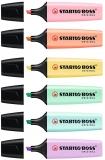 Textmarker Boss Original Pastel Stabilo