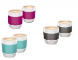 Set cani cafea filtru 40 ml portelan 2 bucati/set Tchibo