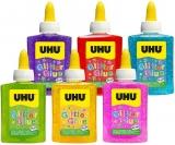Adeziv colorat cu sclipici Glitter Glue 90 g UHU