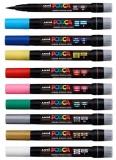 Marker pensula cu vopsea Posca Brush PCF-350 Uni-Ball