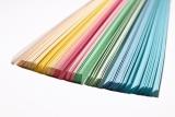 Hartie Quilling 80 gr. 300 x 3 mm, 300 coli 10 culori pastel