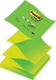 Notite adezive verzi Post-It Z-Notes 76 mm x 76 mm 100 file/cub 3M