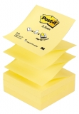 Notite adezive galbene Post-It Z-Notes 76 mm x 76 mm 100 file/cub  3M