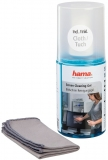 Kit de curatare ecrane spray + laveta microfibra, 200 ml Hama