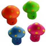 Jucarii chitaitoare ciuperci, 4 buc/set