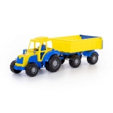 Jucarie Tractor cu remorca 35332 no1 Altay Polesie