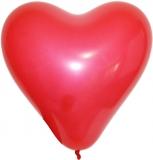 Baloane inimioara diverse culori 1,8 g 12 buc/set