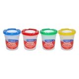 Pahar plastic pentru pictura cu suport pensule