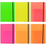 Notes A5 cu elastic 80 file Neon