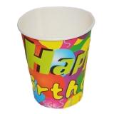 Pahare party de carton set 10