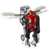 Jucarie Robot transformabil in masina, cu baterii