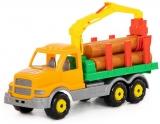 Camion cu lemne 44297 Gigant 48 cm Wader Polesie