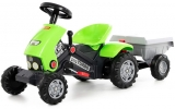 Jucarie Tractor Turbo 2 cu pedale si remorca 52742 Polesie
