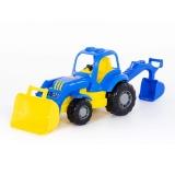 Jucarie Tractor cu incarcator si excavator 44785 Hardy Polesie