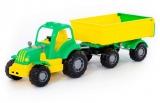 Jucarie Tractor cu remorca 44792 Hardy Polesie