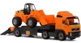 Trailer cu excavator, 89 cm, Volvo PowerTruck Wader Polesie