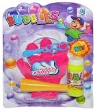 Set de joaca Baloane de sapun, cu manusa