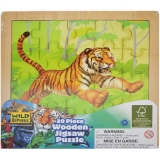 Puzzle de lemn 20 piese Animale