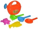 Set de joaca Stropitoare 18 cm cu accesorii de nisip