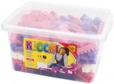 Cuburi constructii in cutie pentru fetite 300 piese, Tupiko