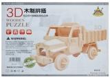 Puzzle de lemn 3D diverse modele