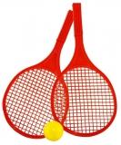 Palete tenis plaja Beach-Ball, 2 buc/set, Tupiko