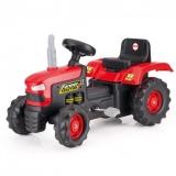 Tractor cu pedale rosu