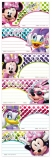 Etichete scolare Minnie 150 buc/set Starpak