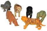 Figurine animale din jungla, 6 buc/set