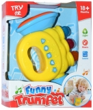 Trompeta pentru bebe, cu baterii