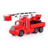 Masina pompieri cu macara Mike Wader Polesie
