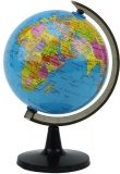 Glob pamantesc, harta politica, diametru 14.2 cm