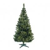 Brad artificial de Craciun Jodla cu aspect natural verde, inaltime 200 cm, suport inclus, Premium