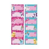 Pachet etichete scolare My Little Pony 6 etichete/pagina 25 pagini/set