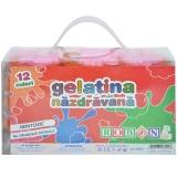 Gelatina colorata 12 buc/set