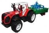 Tractor cu remorca si utilaj, 51 cm