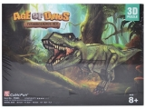 Puzzle 3D Dinozauri, 4 modele