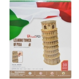 Puzzle 3D Tower of Pisa, 30 piese, Cubic Fun