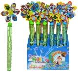 Tub baloane de sapun cu capac floare, diverse modele si culori