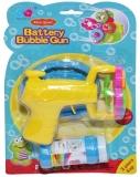 Jucarie baloane de sapun cu elice si baterii