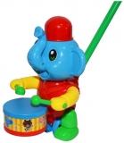 Jucarie de impins, Elefant cu toba