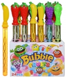 Baloane de sapun, model tub Fructe, diverse culori